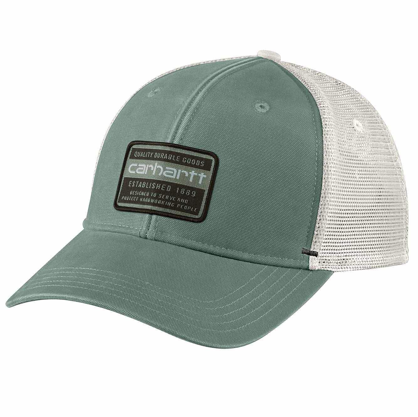 Carhartt Mesh Back Quality Graphic Cap - Leaf Green 104723