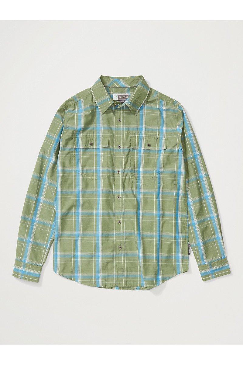 Men's BugsAway Ashford Long Sleeve Shirt Alpine Green SALE