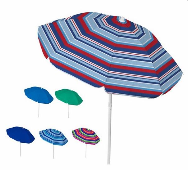 6' TNT Tilt Umbrella for Beach