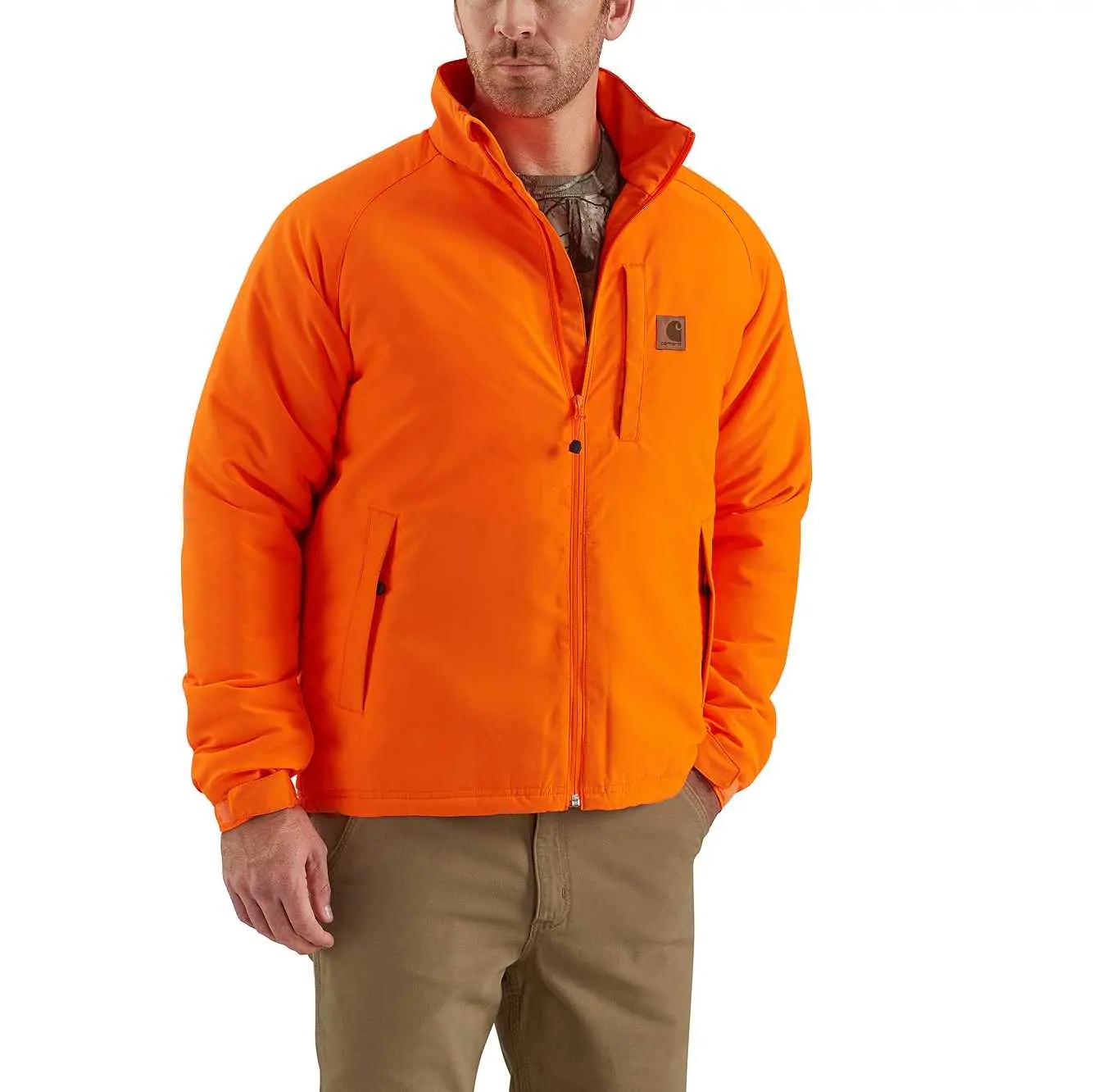 102699 Carhartt 8 Point Jacket - Orange
