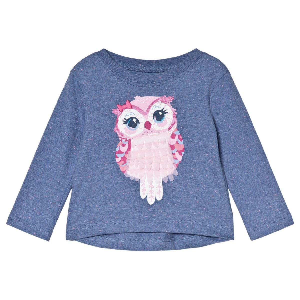 Adorable Owl L/S Baby Tee by Hatley