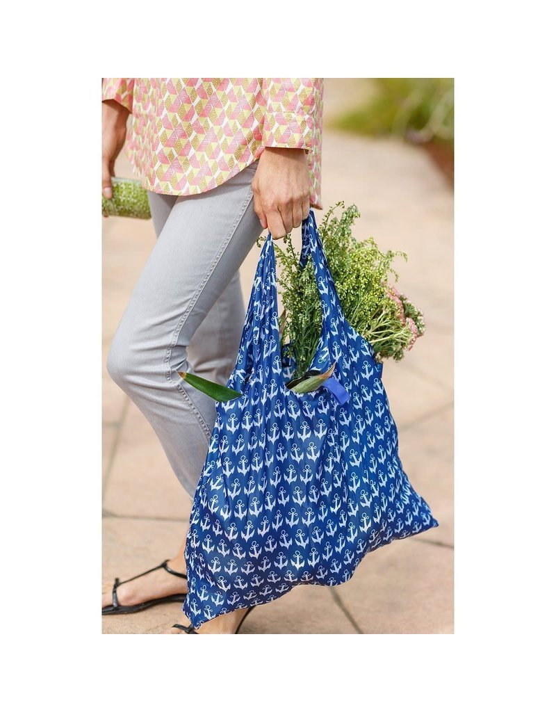 BluBag Reusable Shopping Bag - Anchor Navy