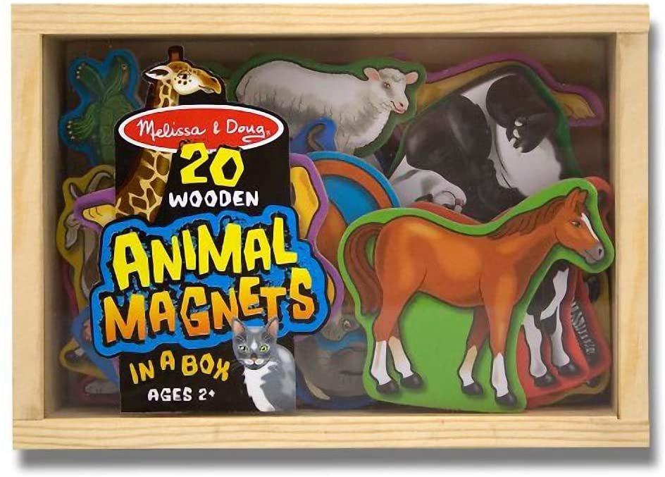 Wooden Animal Magnets 20 piece #475 Melissa & Doug