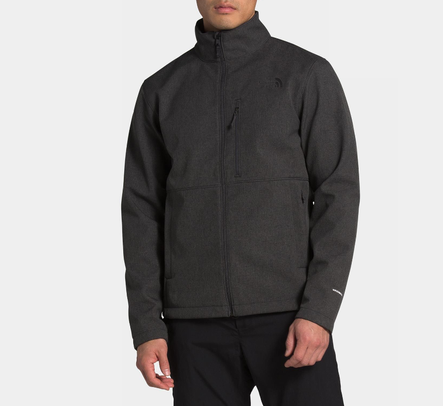 M's North Face Apex Bionic Jacket in Dark Grey Heather