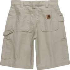 B147 Canvas Work Short Tan 10