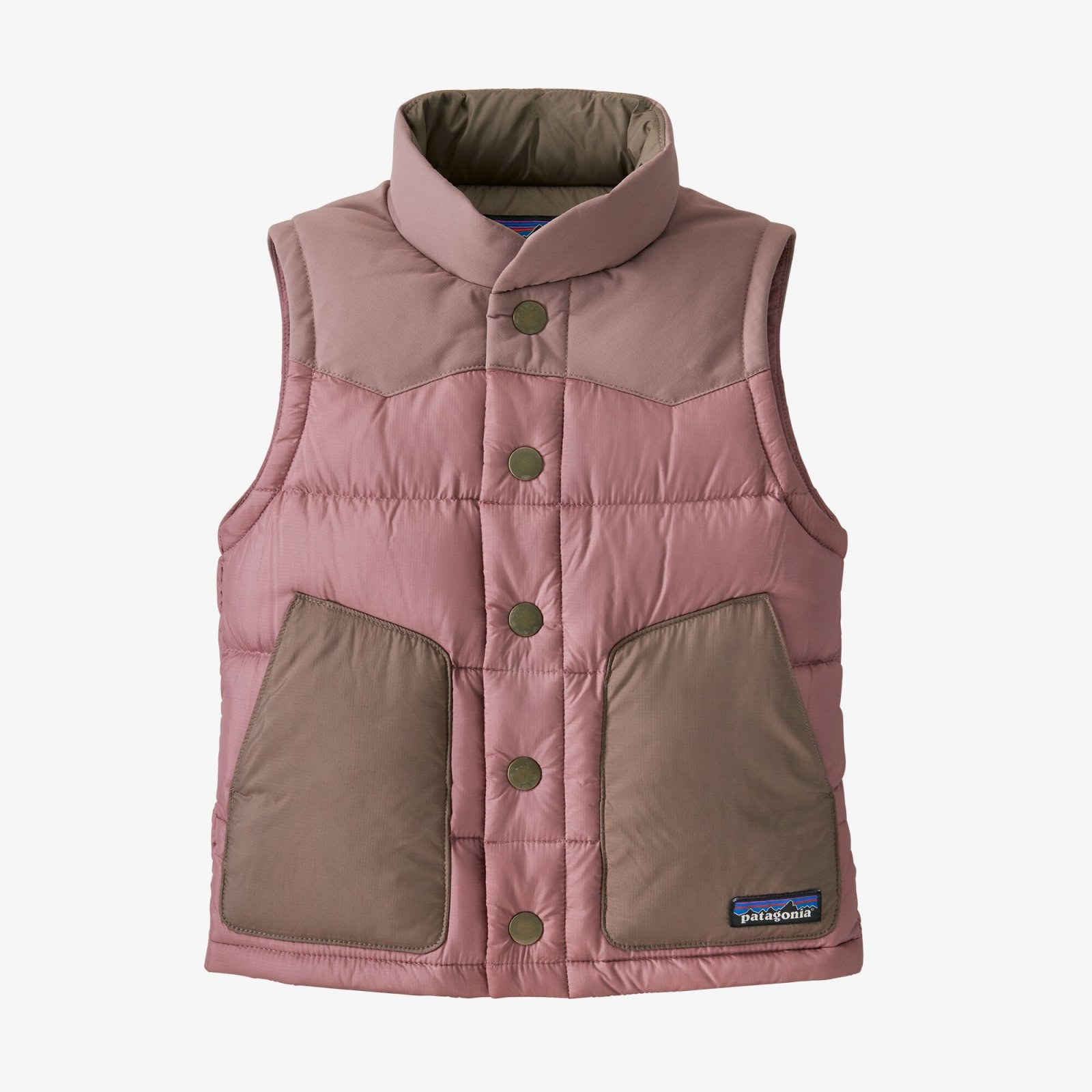 Patagonia Baby Bivy Down Vest - Artifact Pink