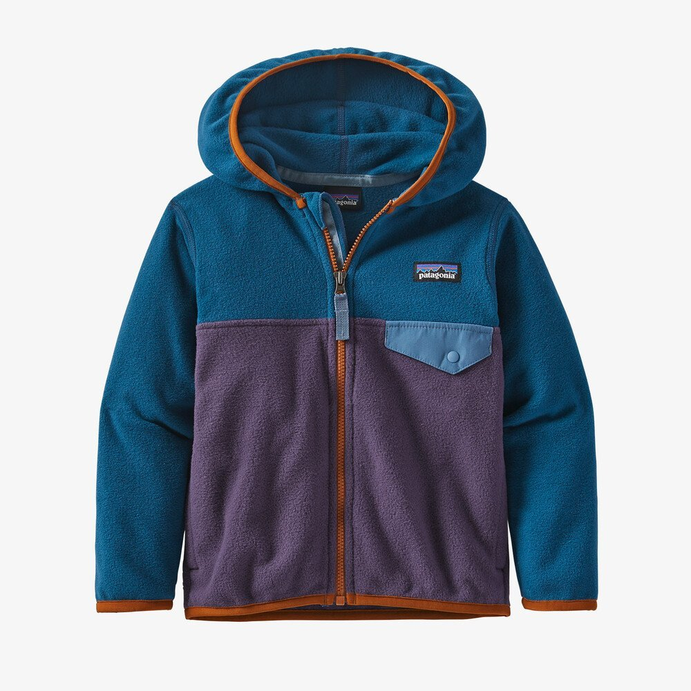 Baby & Kids Micro D Snap-T Jacket Piton Purple by Patagonia