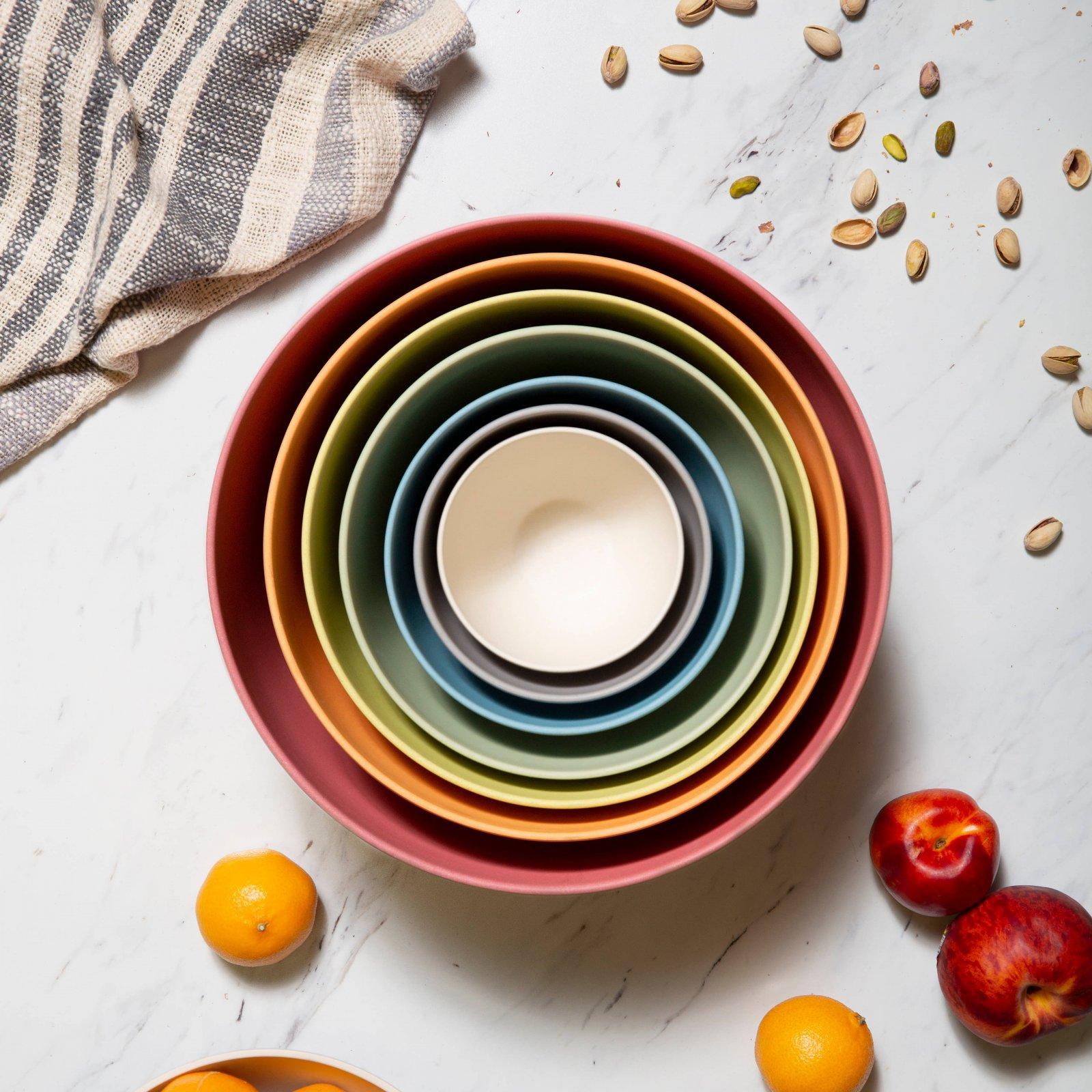 Eco-Friendly Pastel Nesting Bowls SALE