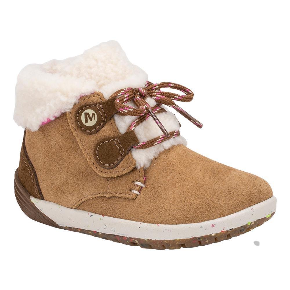 Merrell Toddler Barefoot Steps Cocoa Chestnut Boots