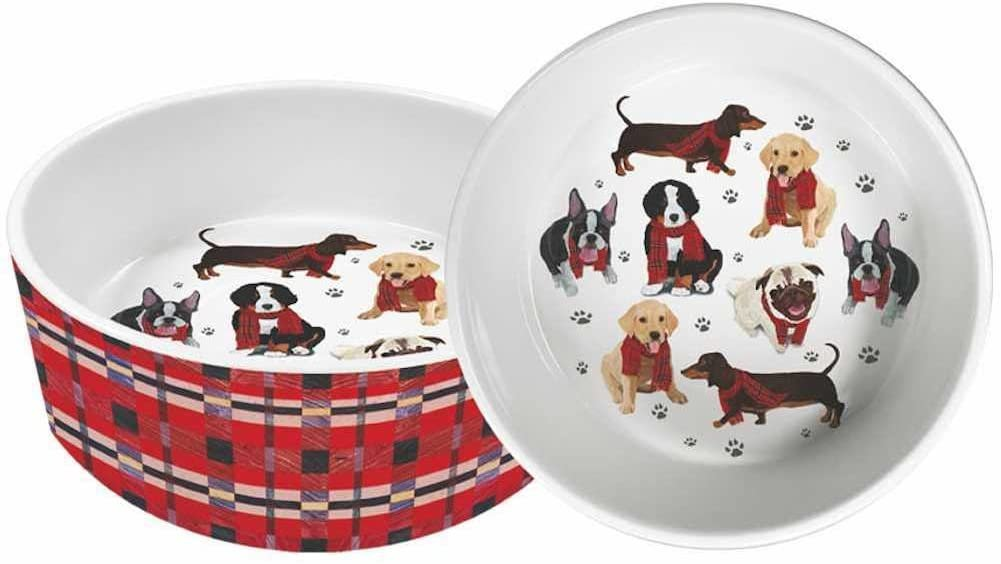 The Bark Gang 8 Ceramic Pet Bowl