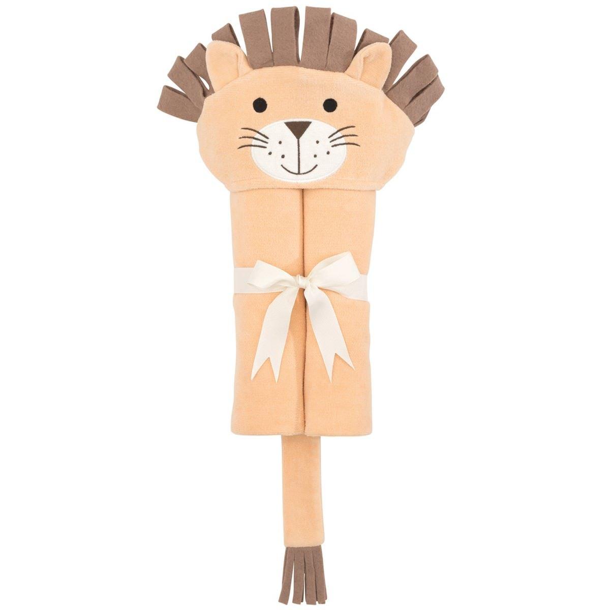 Elegant Baby Hooded Bath Towel - Lion
