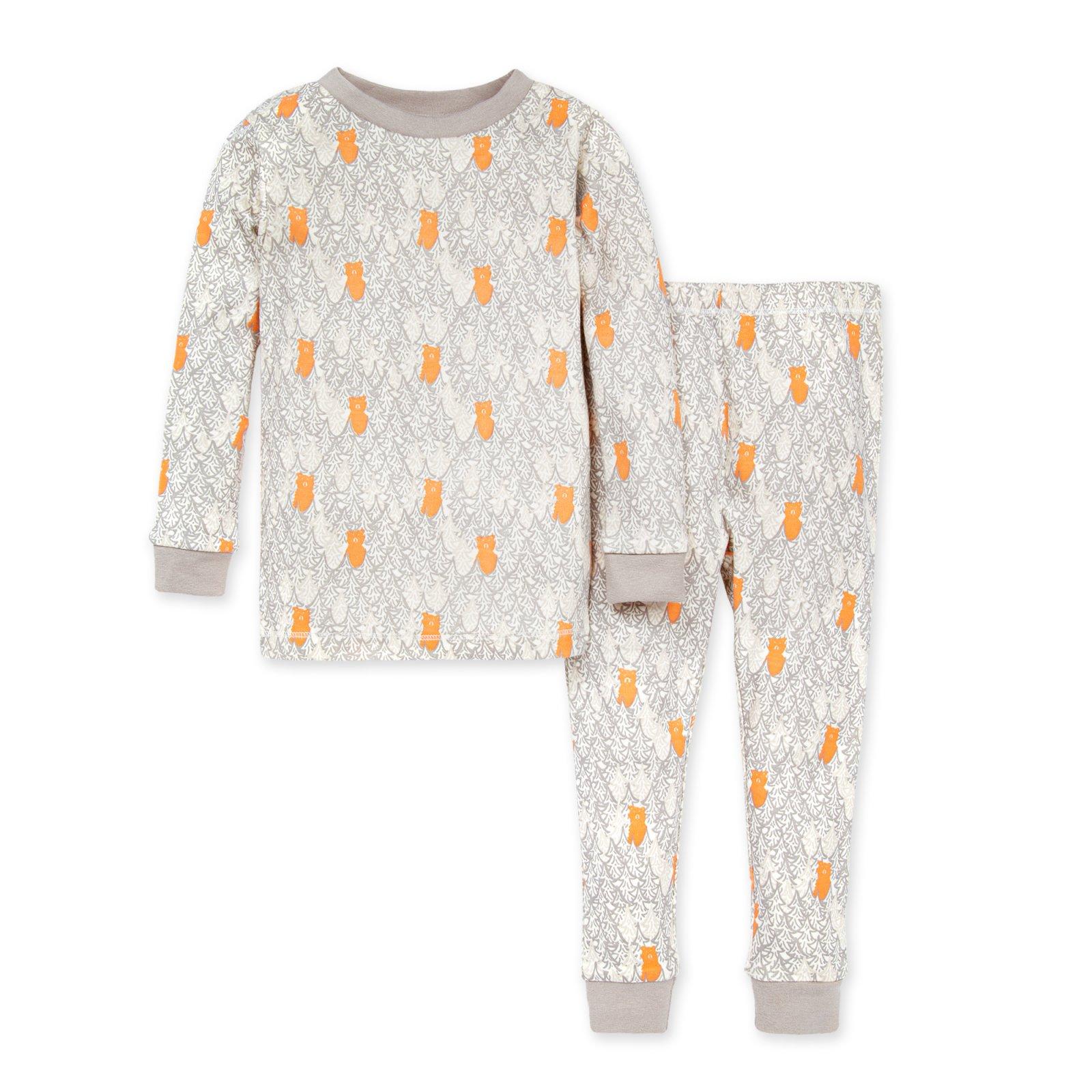 Burt's Bees Organic Kid's Pajamas - Bear Forest TD27238