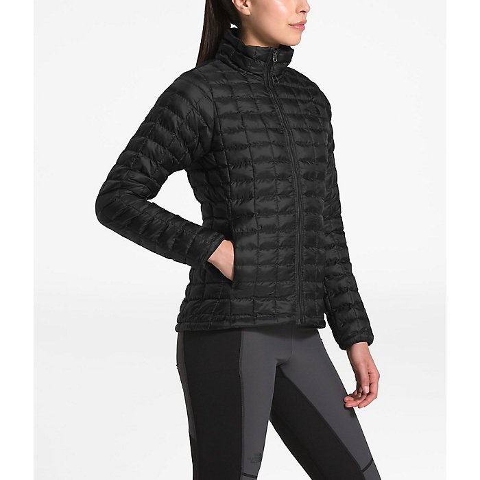 W's Eco Thermoball Jacket - Black Matte