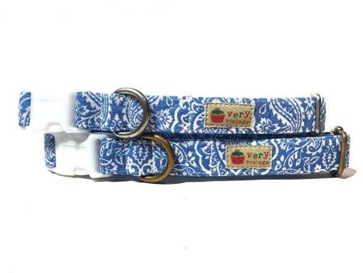 Collar & Leash Collection - Blue Jean