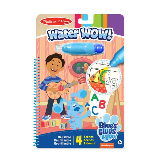 Blue's Clues & You! Water Wow! - Alphabet #33000