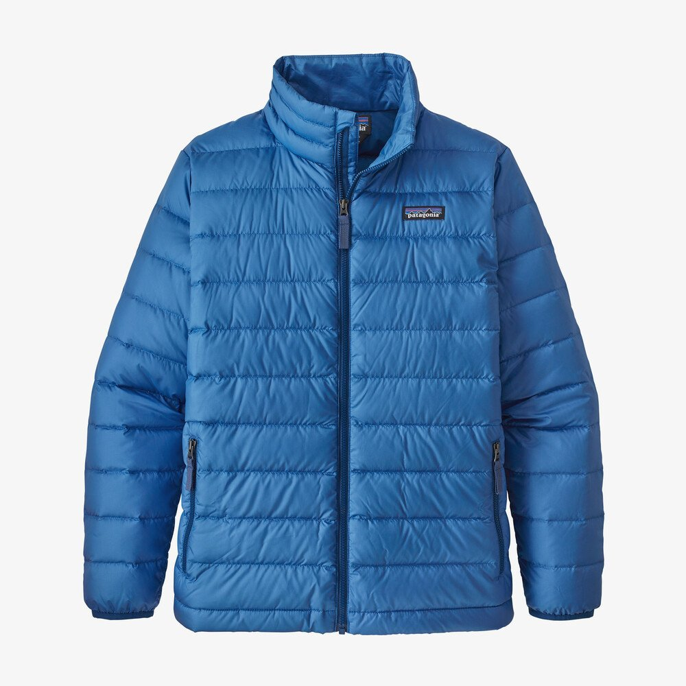 Boys Down Sweater Jacket in Bayou Blue by Patagonia