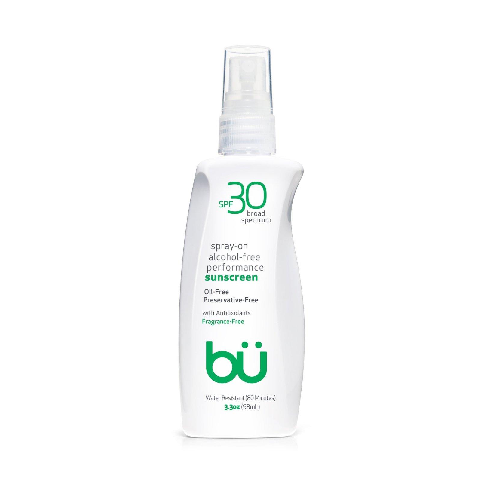 BU Performance Spray Sunscreen SPF 30 Unscented