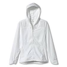 Women's Bug Barrier Expedition FZ Hoody White