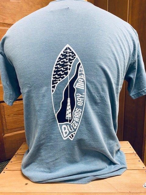 Atlantica Apparel Adult Short Sleeve Tee - Buzzards Bay Blue