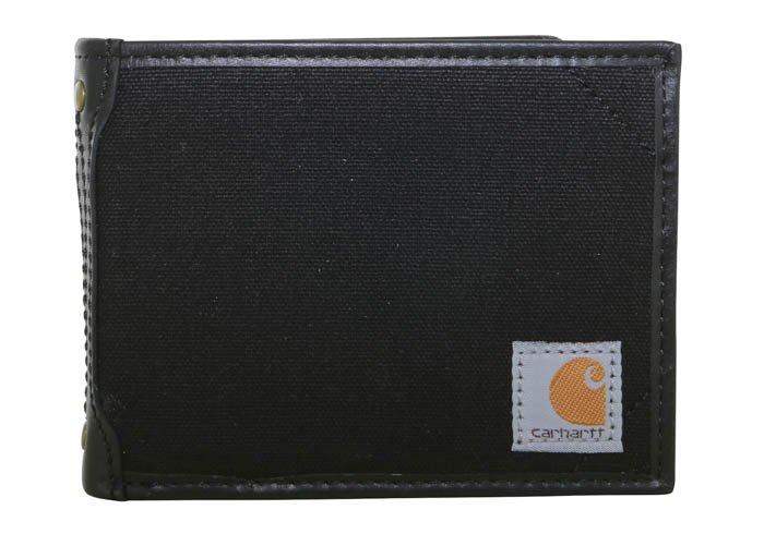 Carhartt Canvas Passcase Wallet - Black