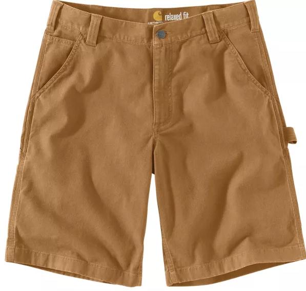 103652 Rugged Flex Dungaree Short 11 - Brown 918