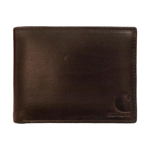 Carhartt Oil Tan Passcase Wallet Brown
