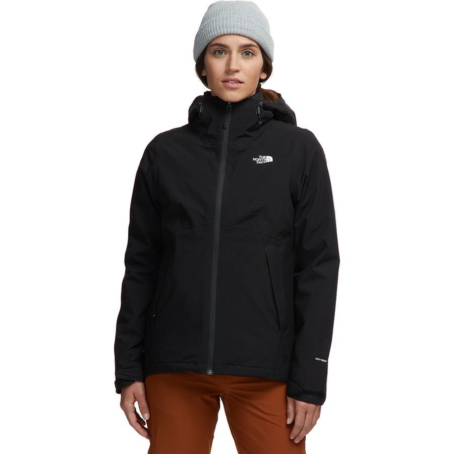 W's Carto Triclimate Jacket in Black by North Face