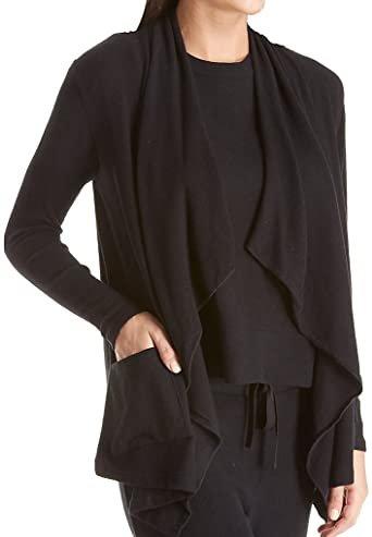 W's Soft Cascading Front Jacket in Black 5573 SALE