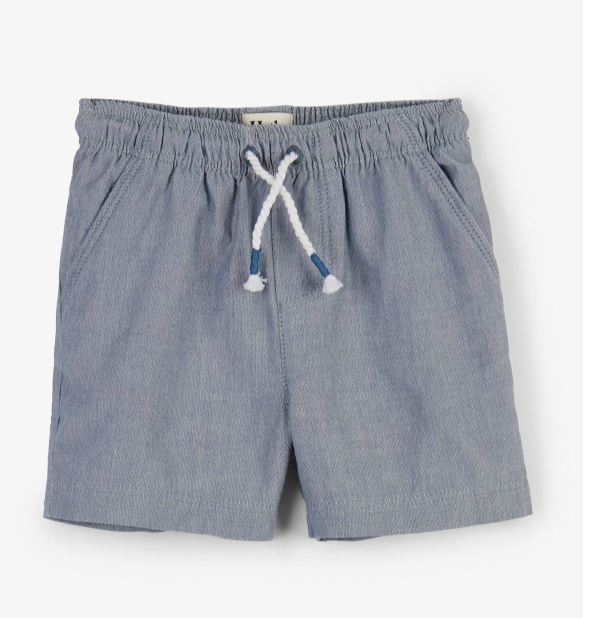 Chambray Baby Woven Shorts by Hatley