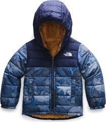 Boys Toddler Reversible Mount Chimborazzo Hoody - Bear Blue