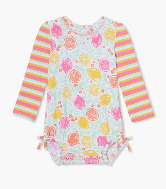 Citrus Baby Rashguard Swimsuit by Hatley