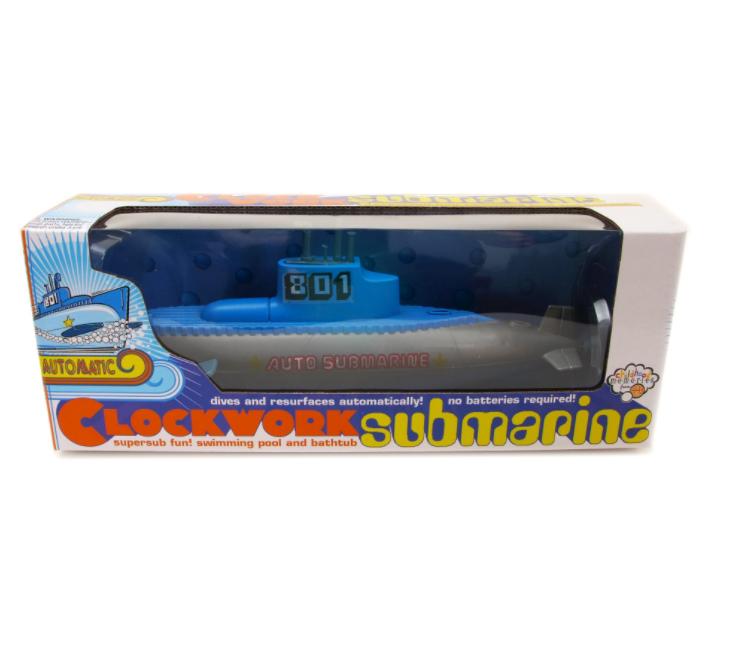 Clockwork Submarine for Bathtub or Pool