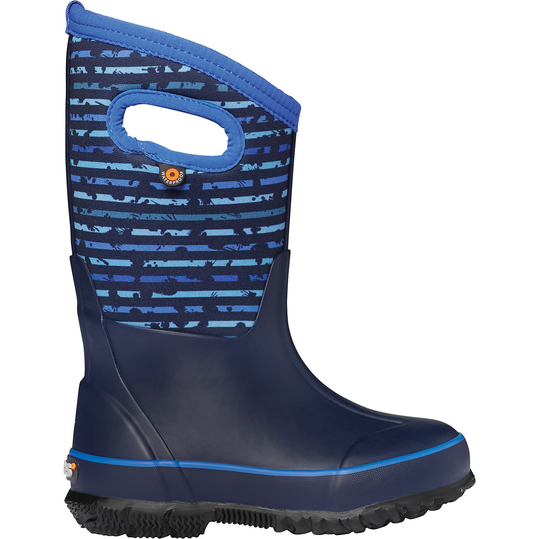 K Classic Stripe Boot Blue