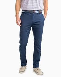 1122 Southern Tide Channel Marker Chino Pant Yacht Blue