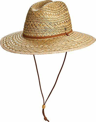 M's Coolibar Bondi Straw Beach Hat UPF 50+