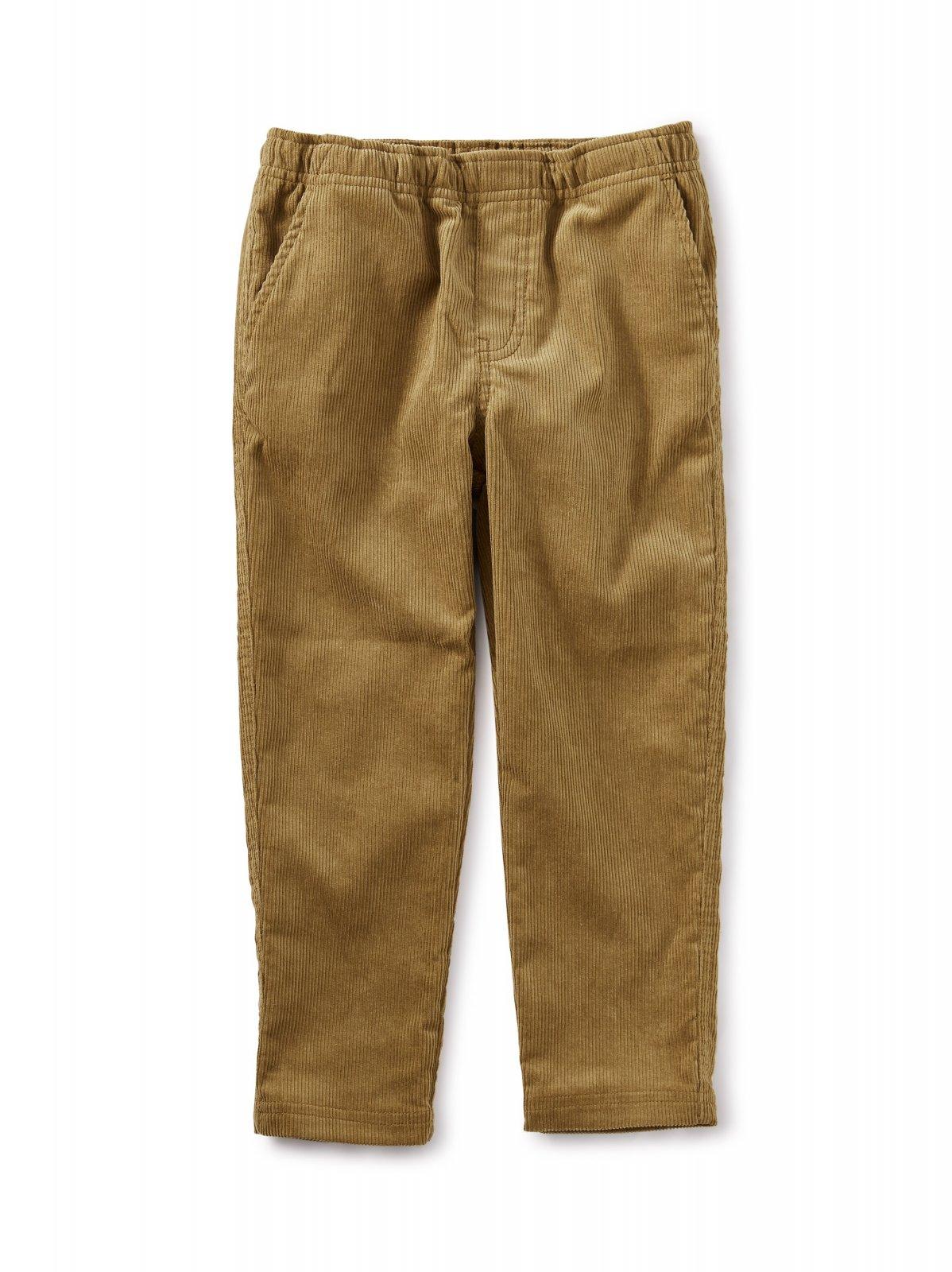 Boy's Corduroy Pant in Raw Umber by Tea