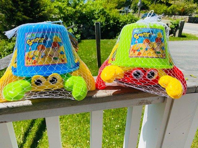 4 Piece Crab Bucket Beach Set