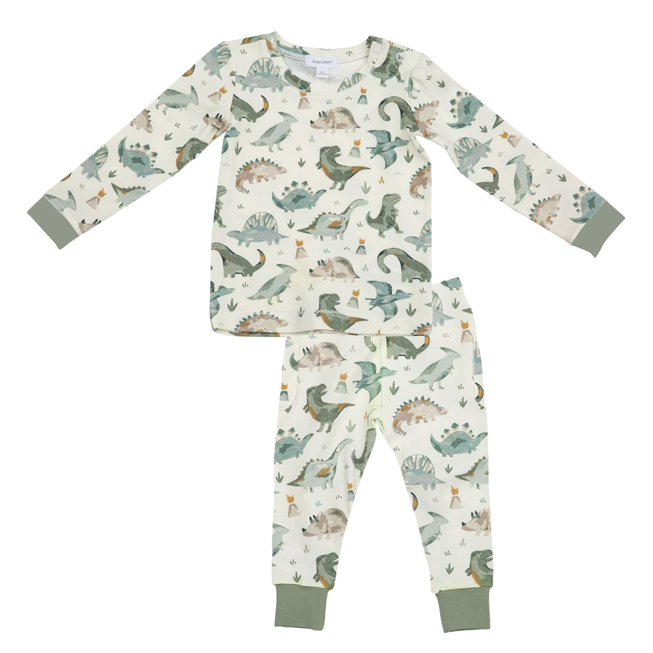 Crayon Dinosaur Lounge Wear Set by Angel Dear