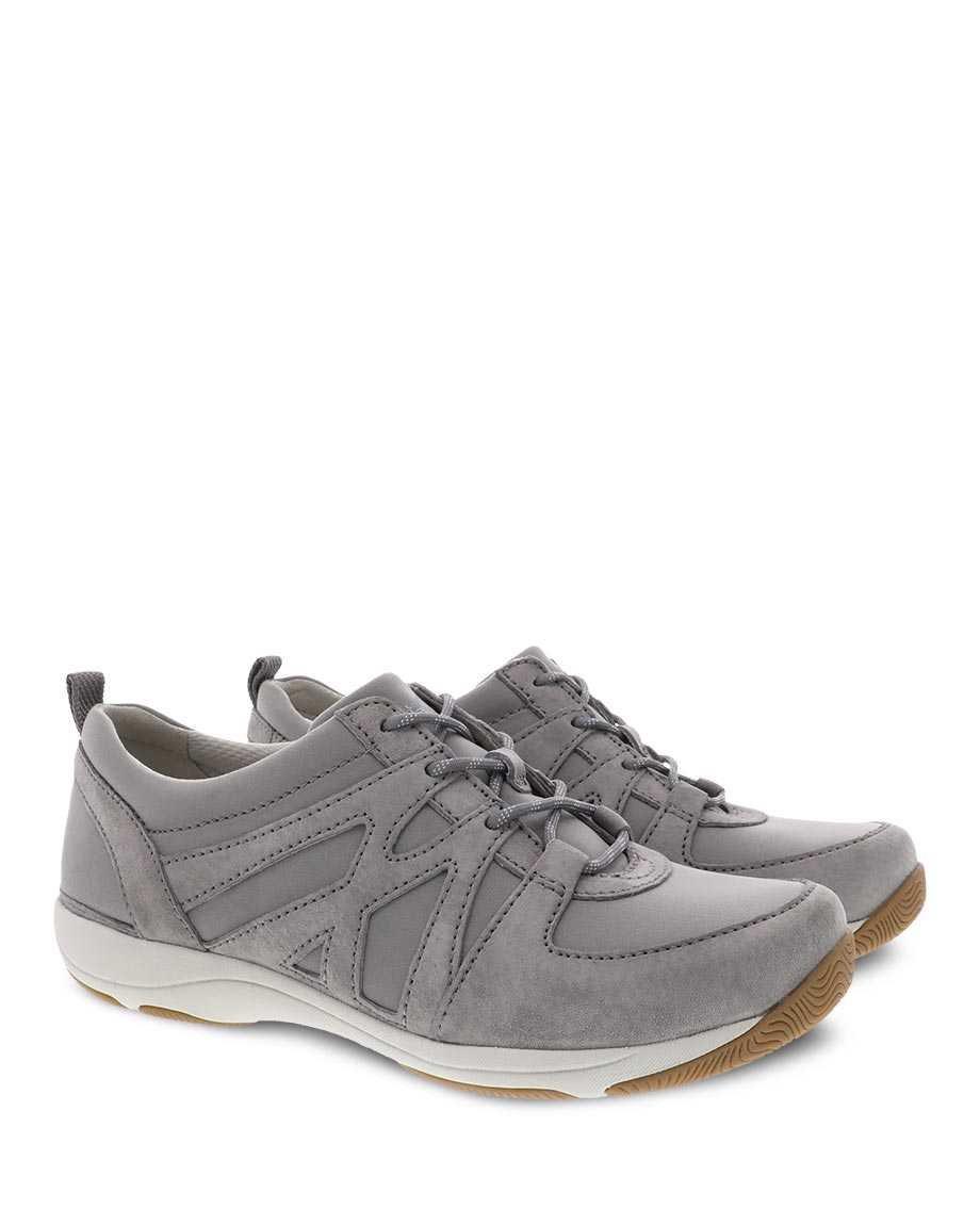 Dansko Hatty Suede Sneaker Grey
