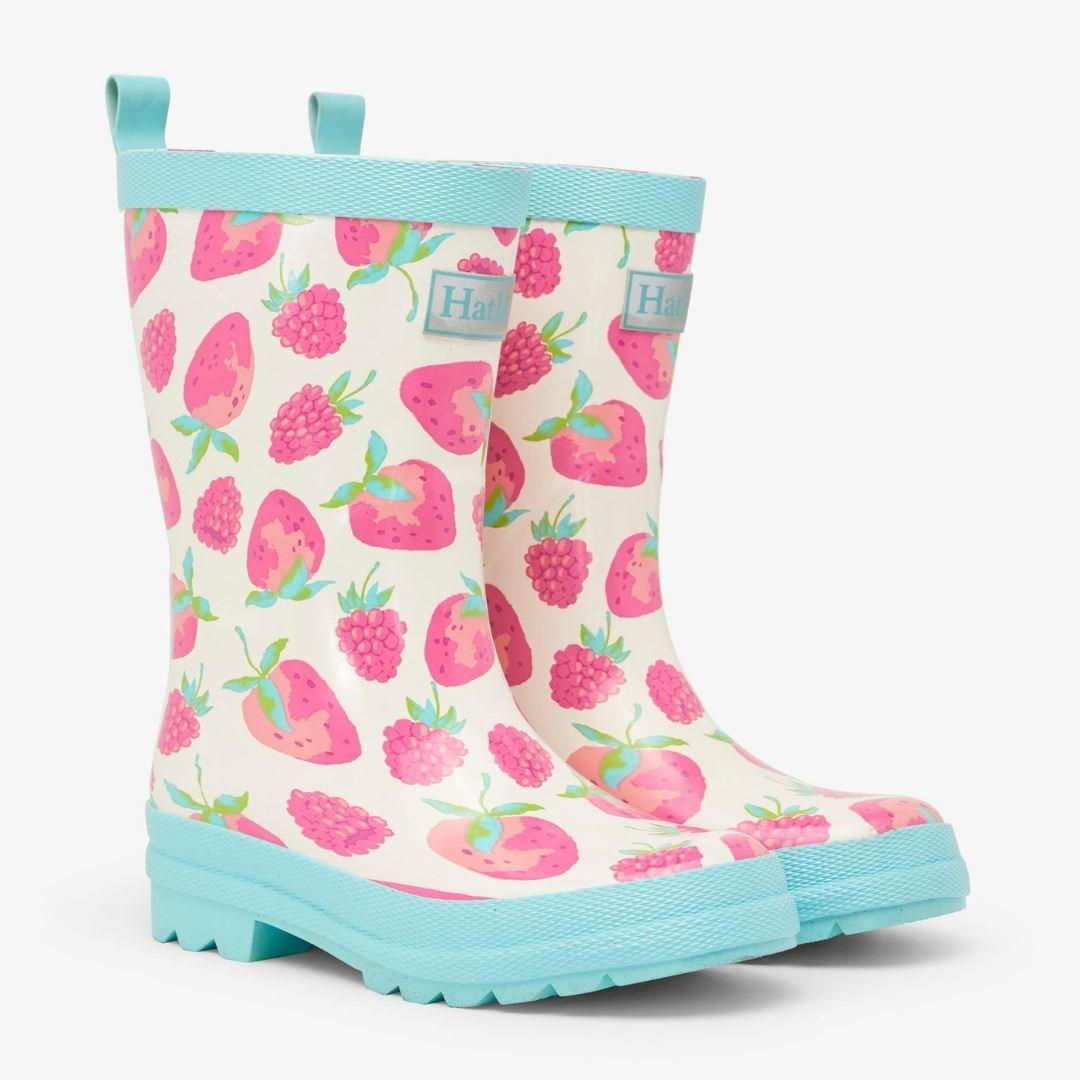 Hatley Girls Delicious Berries Rainboots