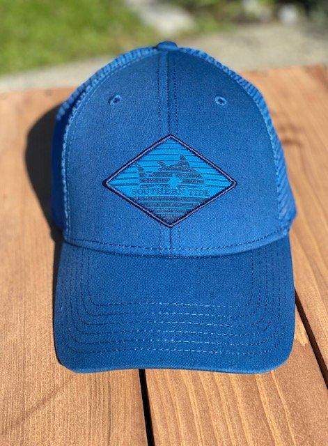 4304 Diamond Skipjack Patch Hat