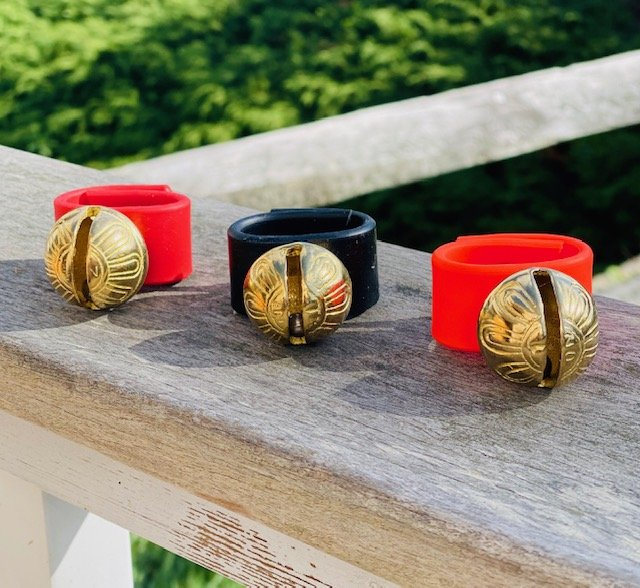 New England Bell Dog Collar Bell (3 Colors Available)