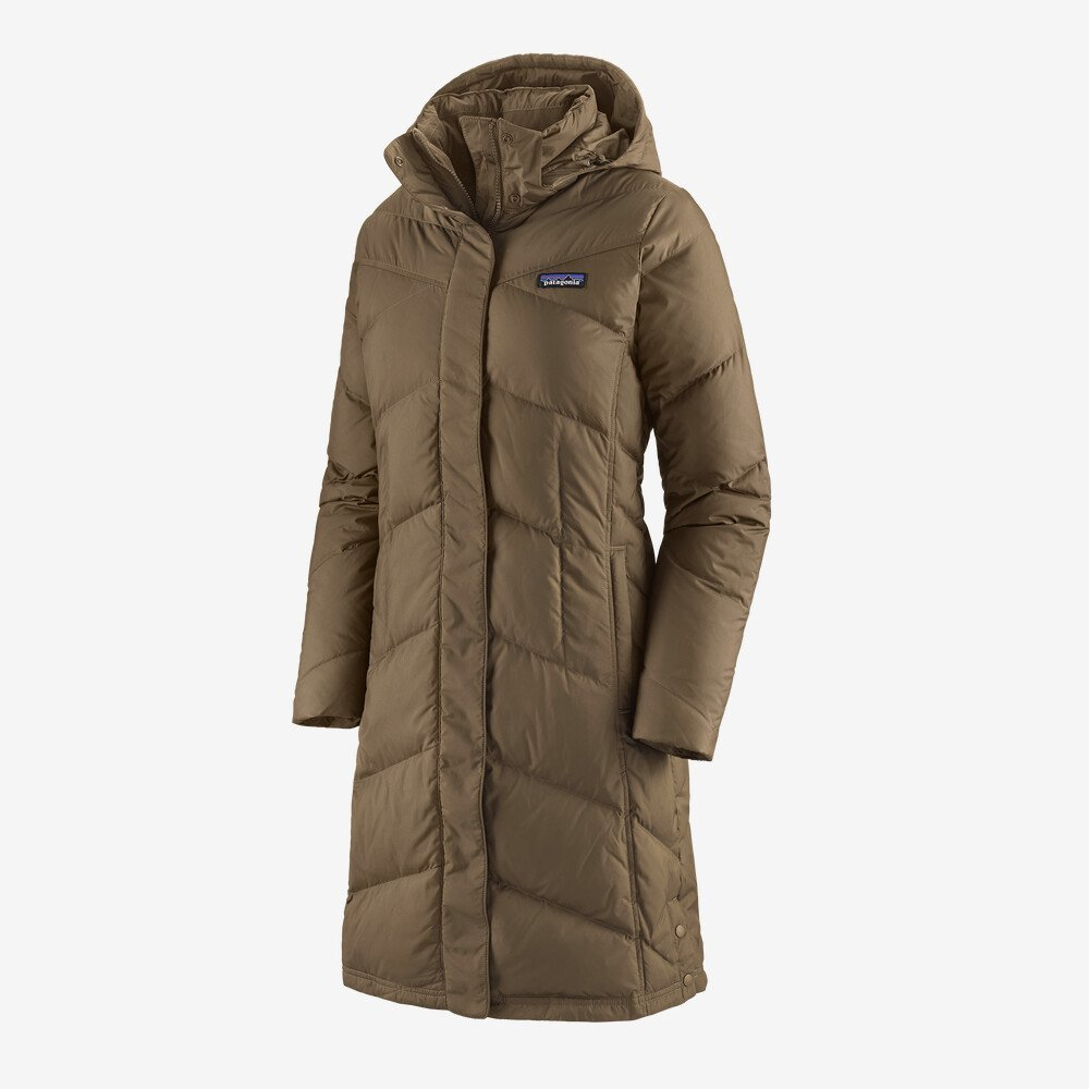 W's Down With it Parka In Topsoil Brown by Patagonia