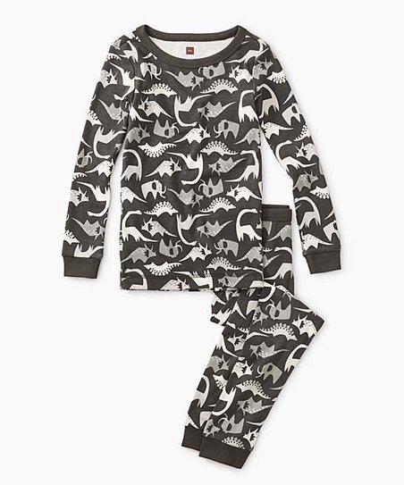 Boys Dreamy Dinos L/S Pajama Set by Tea Collection