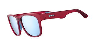 Goodr Large Frame Non-Slip Polarized Sunglasses - Envy of my Octopus Muscles
