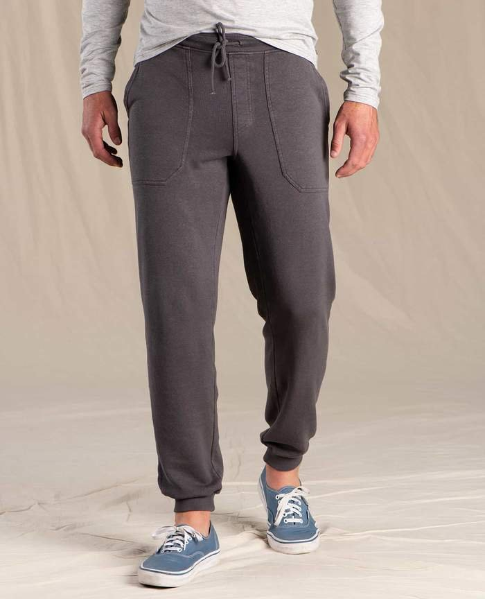 M's Toad & Co Epiq Jogger Sweatpant in Soot