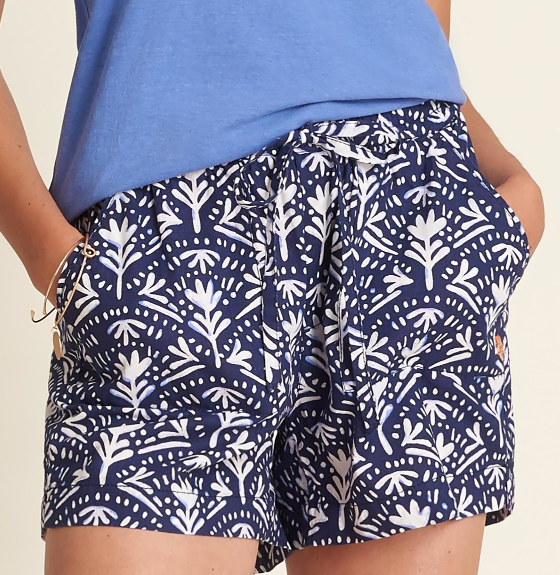 W's Everywhere Shorts in Batik Blue by Hatley