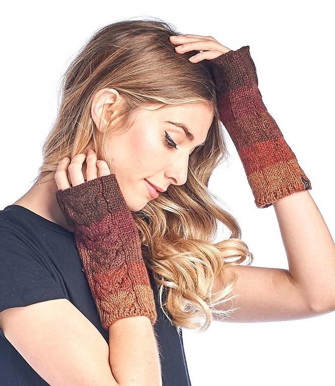 Alpaca Fingerless Gloves Fade GL-FAD (2 Colors Available)