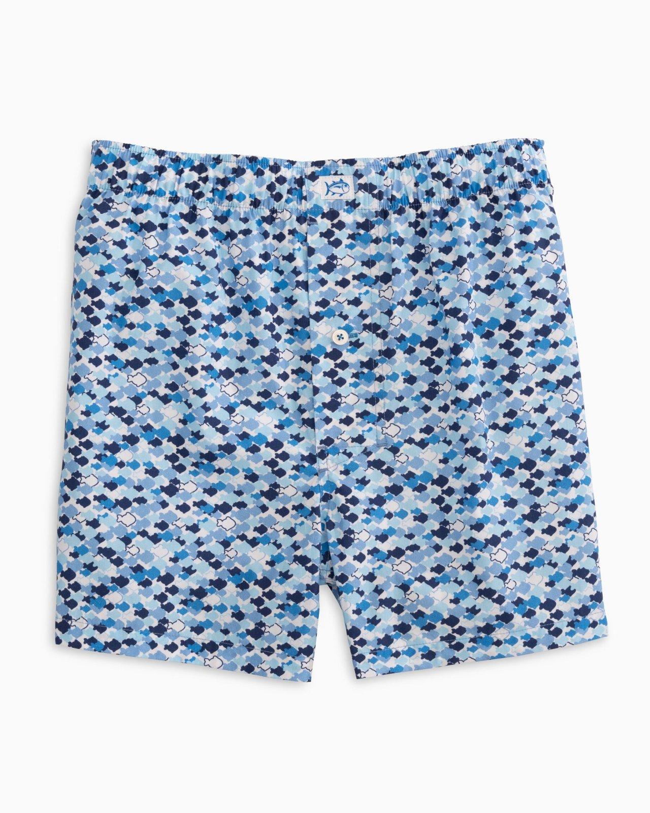 Men's O-Fish-Al Boxer Hurricane Blue