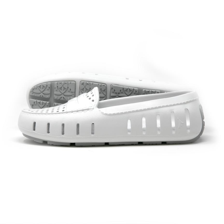 W's Floafers Posh Driver Shoe - Bright White